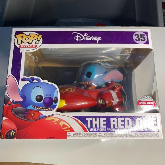 Funko Pop Rides Lilo & Stitch The Red One